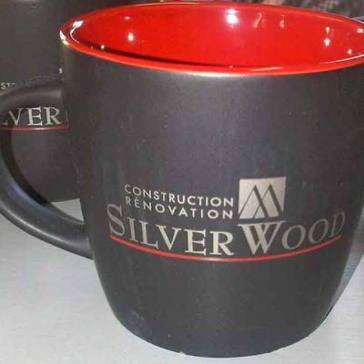 Broderie des Patriotes - Articles promotionnels - Tasse - Siver Wood