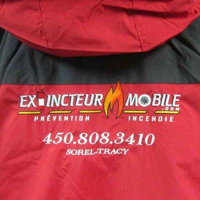 Broderie des Patriotes - Broderie - Manteau - Extincteur Mobile