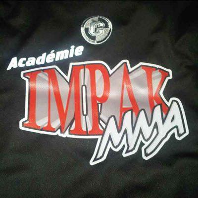 Broderie des Patriotes - Imprimés - Academie Impak MMA