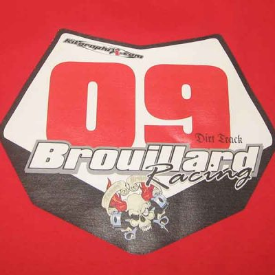 Broderie des Patriotes - Imprimés - Brouillard Racing