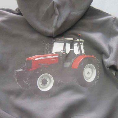Broderie des Patriotes - Imprimés - Tracteur
