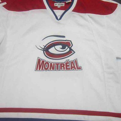 Broderie des Patriotes - Sérigraphie - Chandail hockey - Montréal