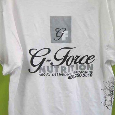 Broderie des Patriotes - Sérigraphie - T-shirt - G-Force