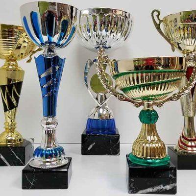 Broderie et trophée des Pastriotes - Coupe