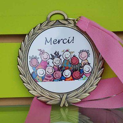 Broderie et trophée des Pastriotes - Médailles