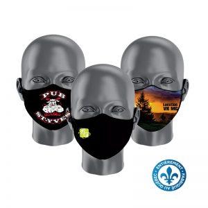 Masque avec imprimé et/ou Logo